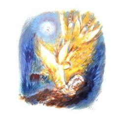 Reuven Rubin Angels Lithograph #2376604