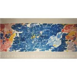 Sam Francis In Lovely Blueness Offset#2376608
