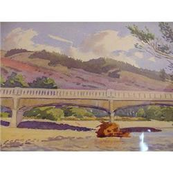 Vintage Watercolour, H. Webster Nash. #2376621