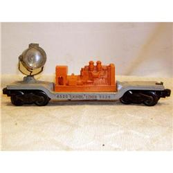 Lionel 0 Gauge #6520 Operating Searchlight Car #2376623