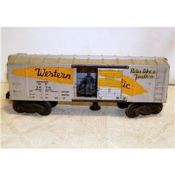 Lionel 0-27 Gauge #3474 Operating Box Car #2376626