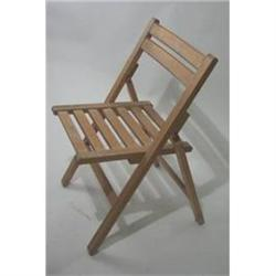 VINTAGE WOOD SLAT CHAIR / 1940S ENGLAND #2376637