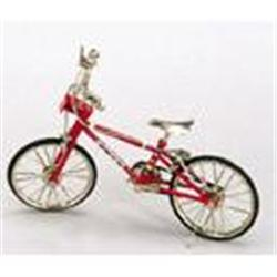 RED TOY BICYCLE / BIKE / MOTION TOYS DOLL #2376643