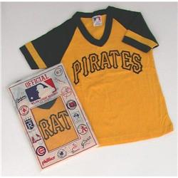 VINTAGE MLB PITTSBURGH PIRATES CHILDS SHIRT 6-7#2376647