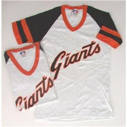 VINTAGE MLB GIANTS BASEBALL CHILDS SHIRT M L #2376648