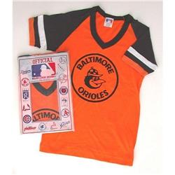 VINTAGE MLB BALTIMORE ORIOLES BASEBALL CHILDS #2376649