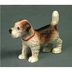 CAST IRON STANDING PUPPY DOG STATUE * GARDEN #2376657
