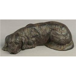CAST IRON DOG BANK * NEW #2376658