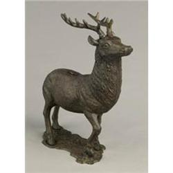 CAST IRON ELK BANK * NEW #2376660