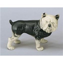 CAST IRON BULL DOG PIGGY BANK #2376663