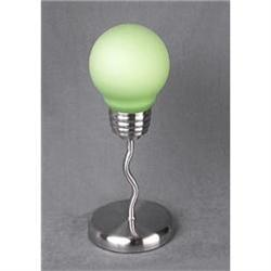 GREEN LIGHTBULB ACCENT LAMP / NEW LIGHTING #2376672