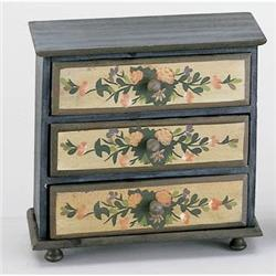 3 DRAWER DOLLHOUSE CHEST / DOLL NEW #2376696