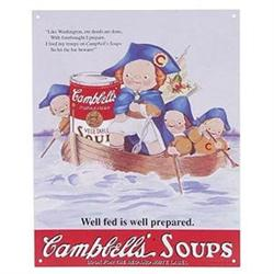CAMPBELL SOUP METAL KITCHEN SIGN / NEW #2376713