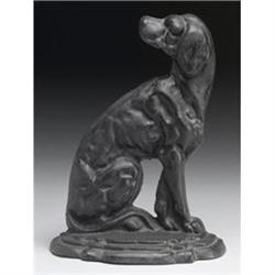 CAST IRON DOG STOP / HOUND #2376716