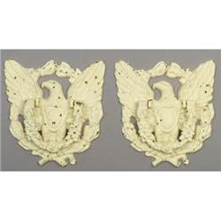 2 CAST IRON EAGLE DOOR KNOCKERS #2376717