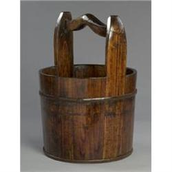 NEW WOOD WATER BUCKET / GARDEN PLANTER #2376719