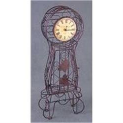 METAL WILD DECO CLOCK / NEW #2376742