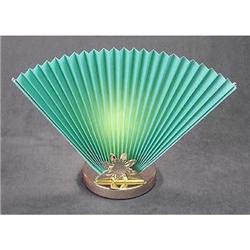 2 TEAL FAN LAMPS / LIVINGROOM / NEW #2376743