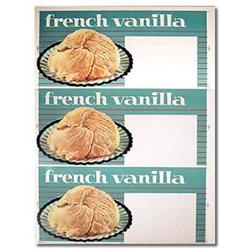 old vintage FRENCH VANILLA ICE CREAM sign #2376754