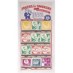 old vintage TRICK MAGIC STORE Joke Display #2376795