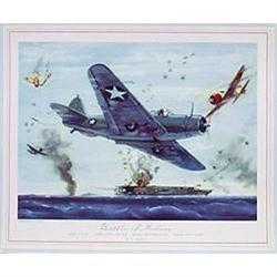 WAR LITHOGRAPH PRINTS ~ CHARLES HUBBELL WWII #2376797