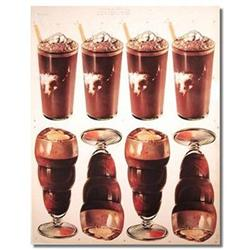 CHOCOLATE MALTS SHAKES SIGN POSTER ~ VINTAGE #2376820