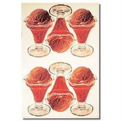 1953 CHOCOLATE ICE CREAM STORE SIGN POSTER ~ #2376824