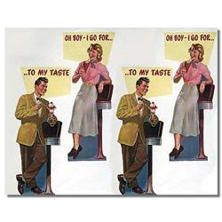 1950 ICE CREAM parlor STORE SIGN POSTER ~ #2376826