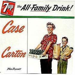 old vintage 7up soda 1950 store sign #2376838