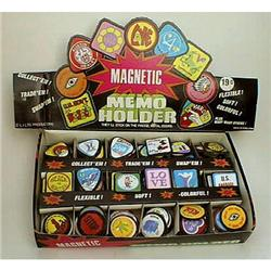 old Magnetic Memo Holders Display Store Box #2376857