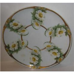 old vintage ROSENTHALE FLORAL DAISY PLATE  #2376878