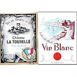 100 OLD VINTAGE FRENCH WINE LABELS #2376950