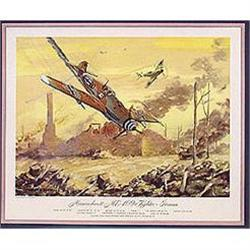 12 OLD VINTAGE AXIS AIRFORCE LITHO PRINTS #2376954