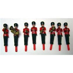 80 VINTAGE BRITISH CAKE TOPPER SOLDIERS TOYS #2376964