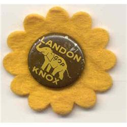 VINTAGE LANDON KNOX DAISY PIN  #2376972