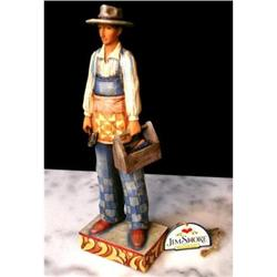 JIM SHORE WORKING MAN W TOOLS STATUE * ENESCO #2377047