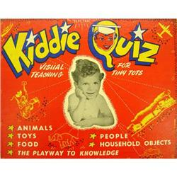 VINTAGE KIDDIE ELECTRICAL BOARD QUIZ GAME  #2377069
