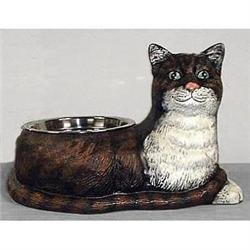 CAST IRON CAT FOOD BOWL #2377079