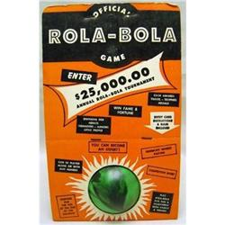 VINTAGE ROLA-BOLA GAME BALL TOY IN BOX #2377082