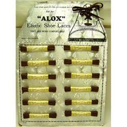 Vintage 1940S ALOX SHOESTRING Metallic Store #2377094