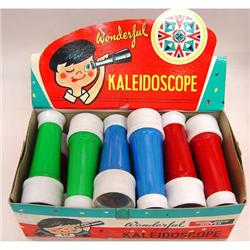 Vintage 1960s TOY KALEIDOSCOPE Store Counter #2377095