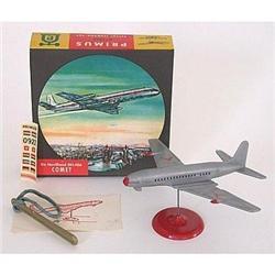VINTAGE DE HAVILLAND DH-106 COMET AIRPLANE TOY #2377105