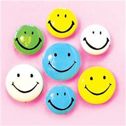 18 VINTAGE HAPPY SMILE SMILEY PINS PINBACKS #2377117