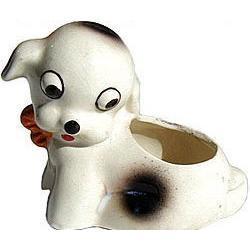 VINTAGE OCCUPIED JAPAN BONZO DOG STATUE #2377135