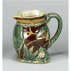 PORCELAIN FROG WATER PITCHER NEW #2377185