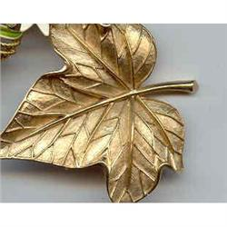 SALE Lovely Trifari Leaf Pin #2377397