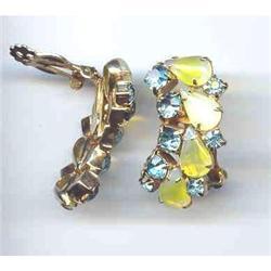 SALE Rhinestone Designer Earrings   wow #2377404