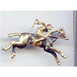 Jockey on horse  Pin #2377409