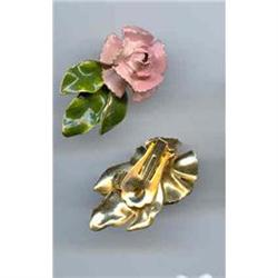 Vintage Rose Earrings #2377415