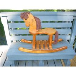 SALE  Hand made Solid Wood Rocking Horse #2377430
